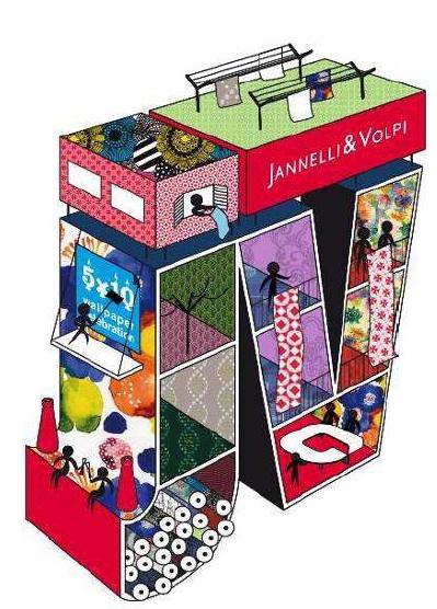 Jannelli e Volpi 5X10=Wallpaper Celebration | Andreoli Corian ...