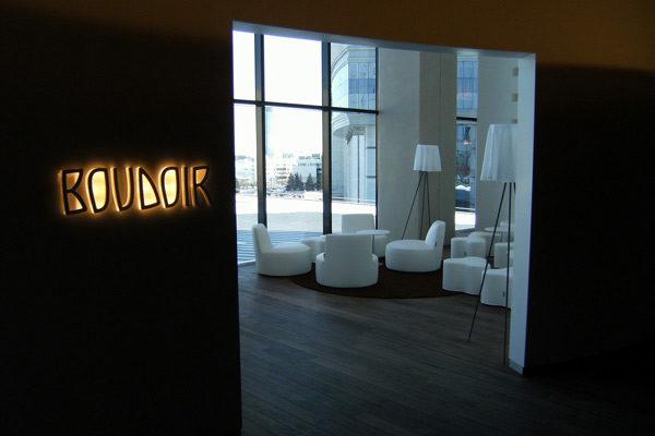 Arredamento Hotel - Design interni in Corian - 01