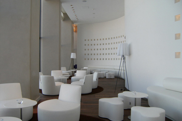 Arredamento Hotel Hyatt: design interni in Corian®