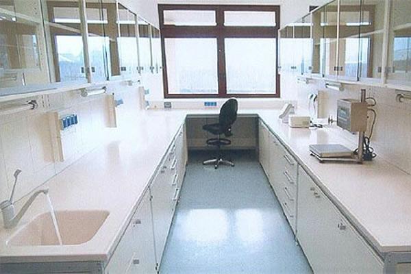 Arredo Sanitario - Ospedale di Bolzano - Reparto Microbiologia