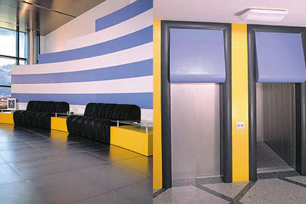 Arredo Uffici Stucchi Spa: Reception e zona Ricevimento clienti in Corian® Design