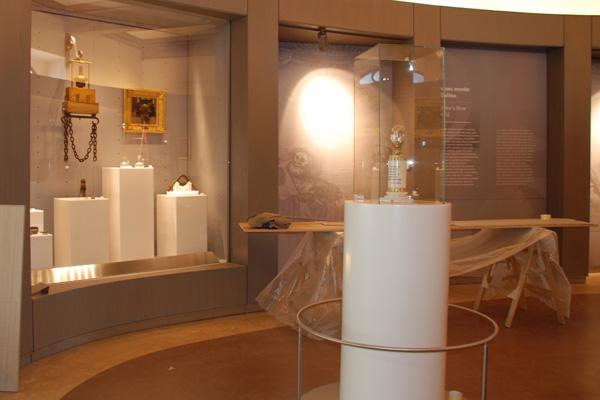 Allestimento Museo Galileo Firenze - Progetto in Corian® Desing