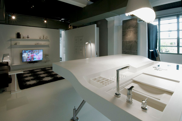 Lavorazione Hi-macs - Design urban-next 04