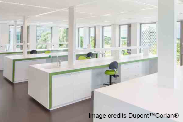 Corian contract andreoli corian solid surfaces for Arredamento ospedaliero