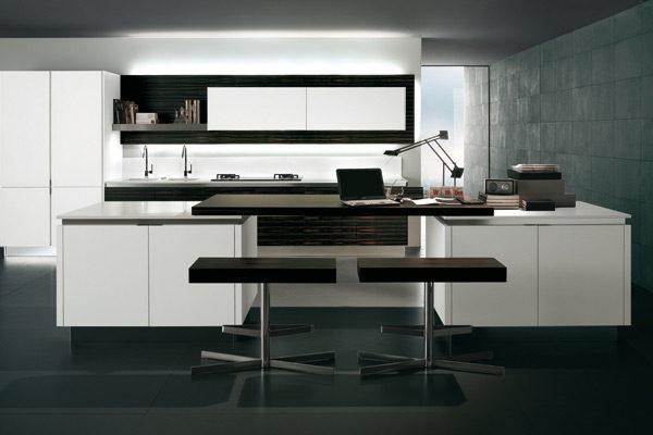 Cucina Design highteck - Piano in corian - 04