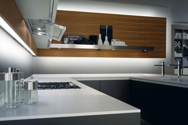 Piani cucina in corian andreoli corian solid surfaces - Piano della cucina ...