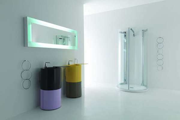 Design Washbasin in Corian®