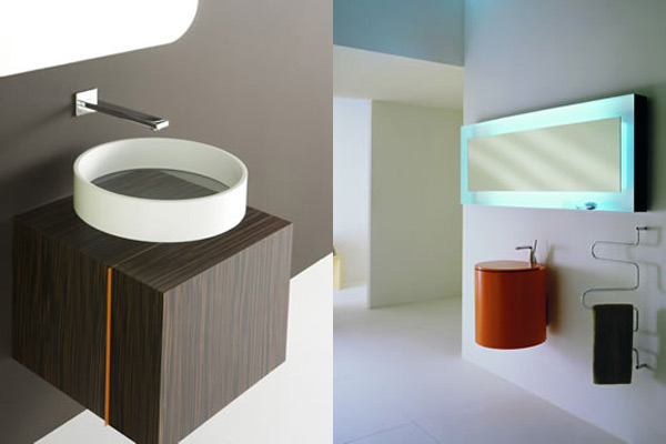 lavabo di design andreoli corian solid surfaces. Black Bedroom Furniture Sets. Home Design Ideas