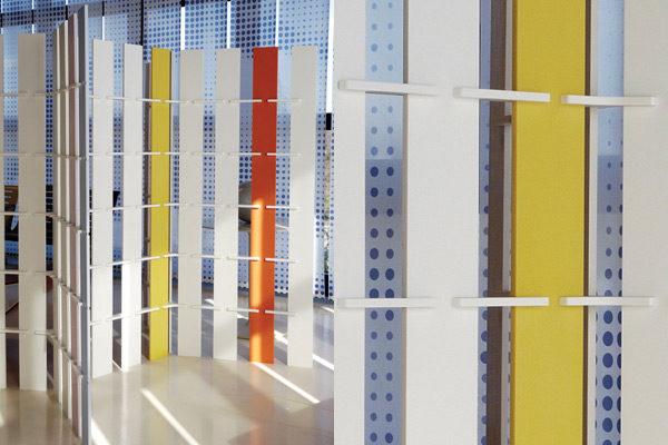 Sistema espositivo expo system - Design Corian 02