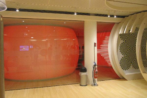 Allestimento Goppion Muse - Museo della scienza Trento- sfera 01