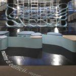 Lavorazione Corian Design Neverending - Allestimento 04