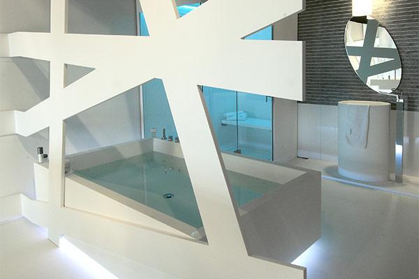 Lavorazione Hi-macs - Design urban-next 06