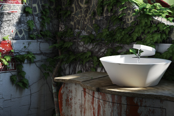 Lavabo di Design in Corian