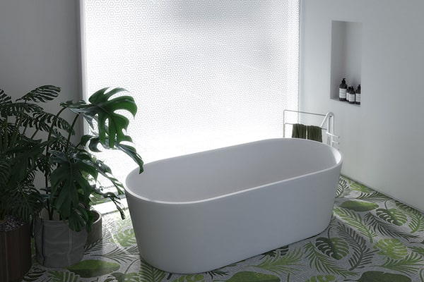 Vasca Bagno Corian Lusso Design Tub Fair