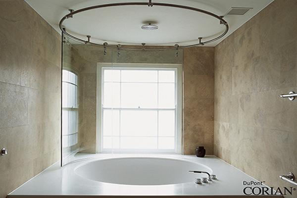 Vasca Da Bagno Ad Angolo Misure : Vasca da bagno su misura in corian® andreoli corian® & solid surfaces