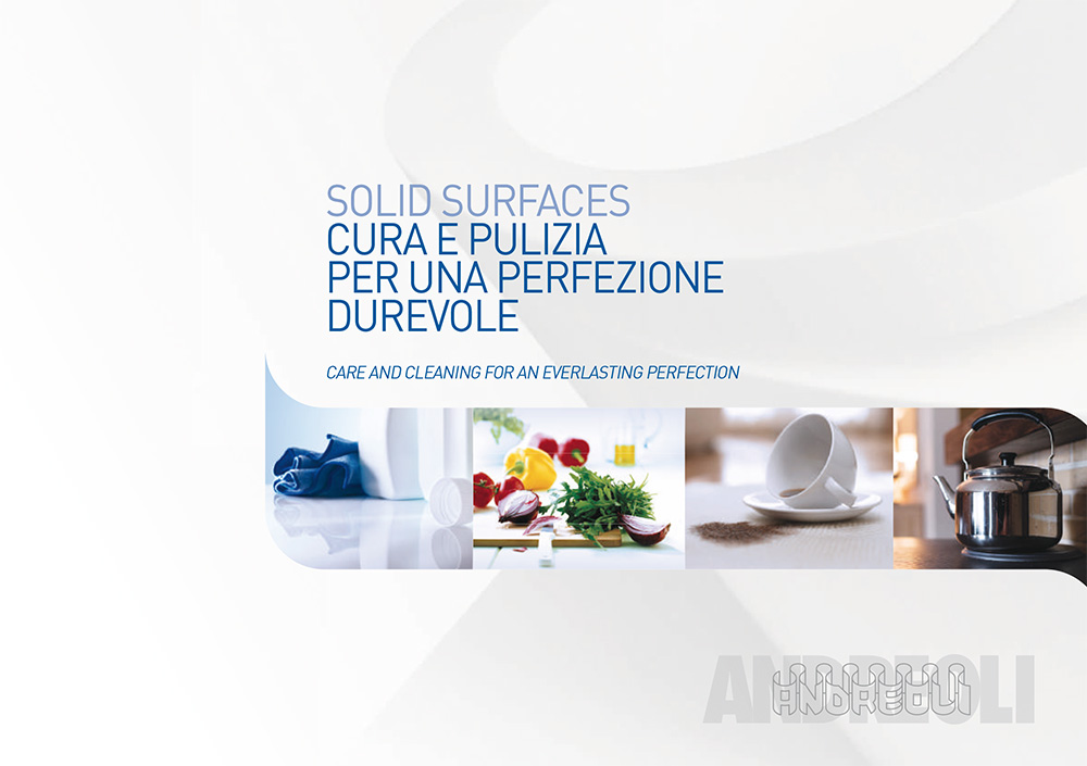 Come pulire Corian e le Solid Surface