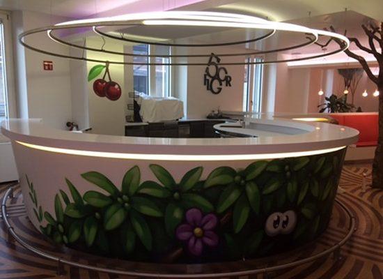 Design Reception in Corian®