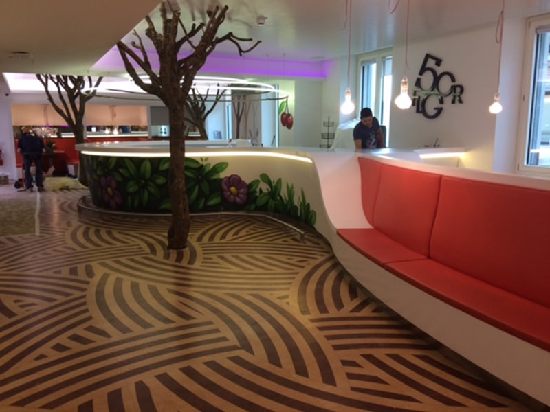 Design Reception in Corian®