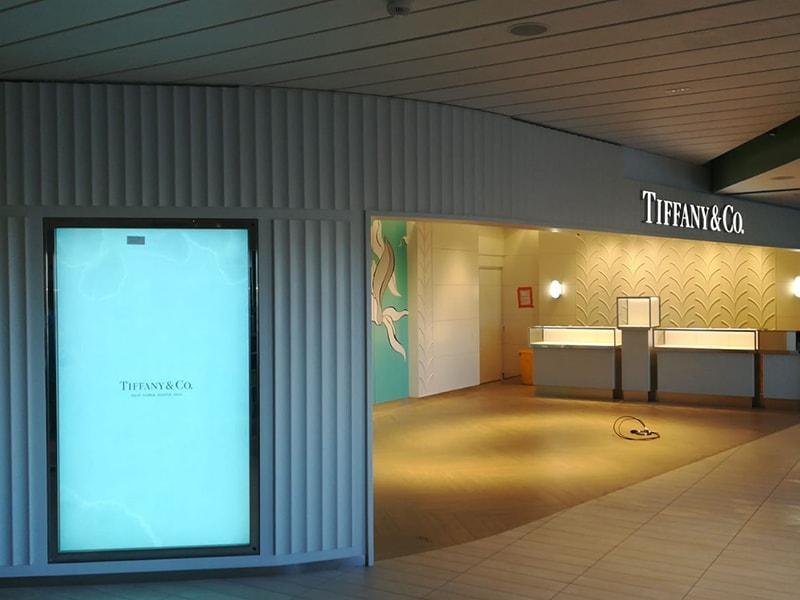 TIFFANY Shop Corner @Celebrity Cruise
