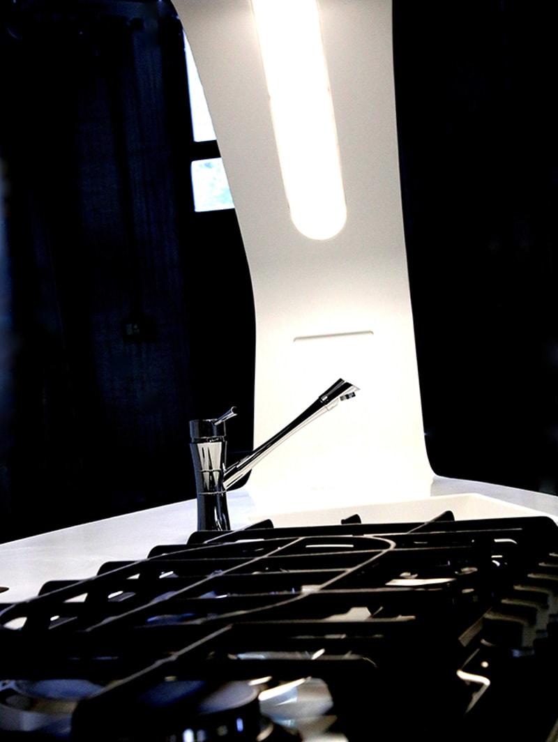 Design Kitchen in Corian® - Work in progress