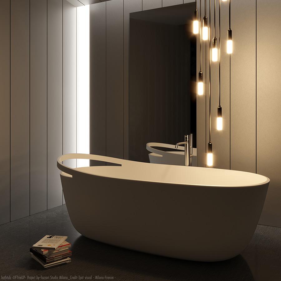 Vasca Bagno Corian Design LIFT