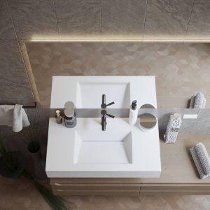 Lavabo Integrato Corian Split Render 02 1000x1000